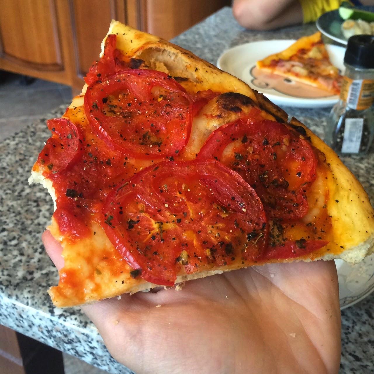 """Анти-пицца """"100% помидор"""", как приготовить тесто для пиццы"""