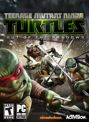 Teenage Mutant Ninja Turtles Out of the Shadows 2013 game for pc