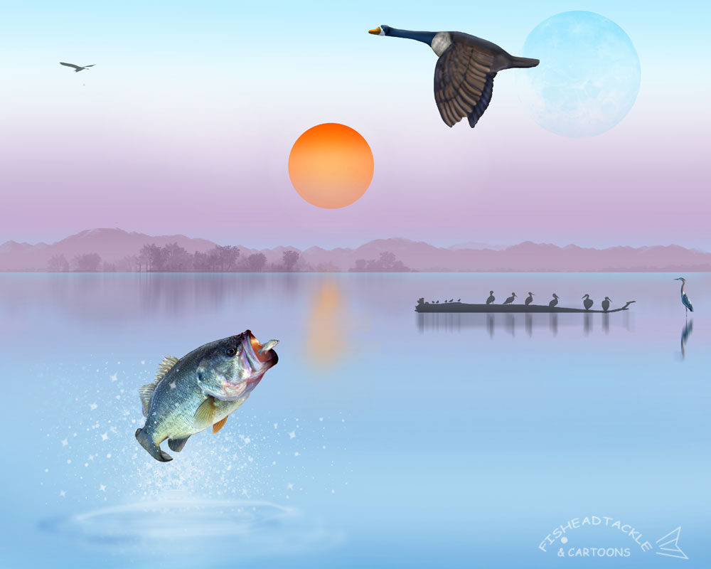 bass fishing pc wallpaper - photo #30