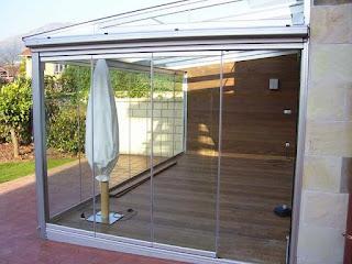 Montaje de cortinas de cristal