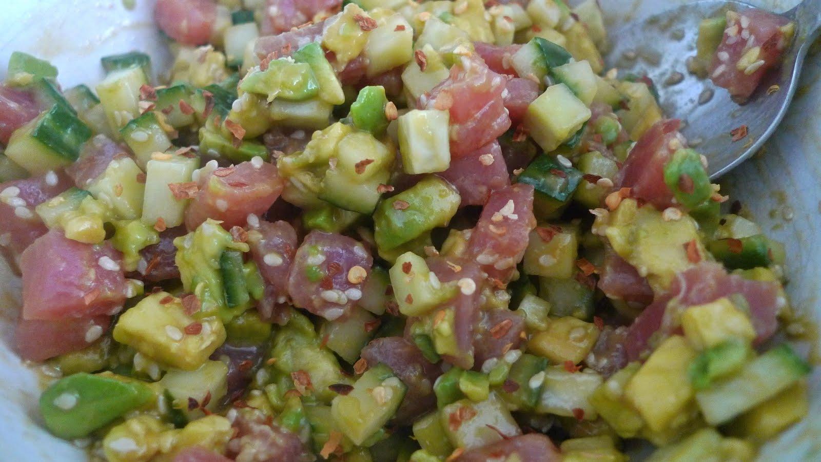 Tuna Avocado Tartare Recipes — Dishmaps