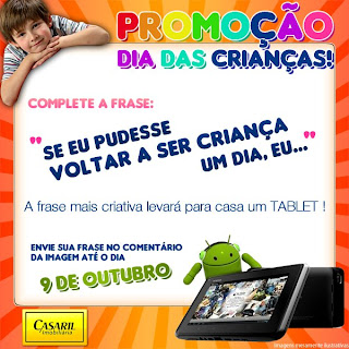 Promoção Dia das Crianças Casaril Imobiliária