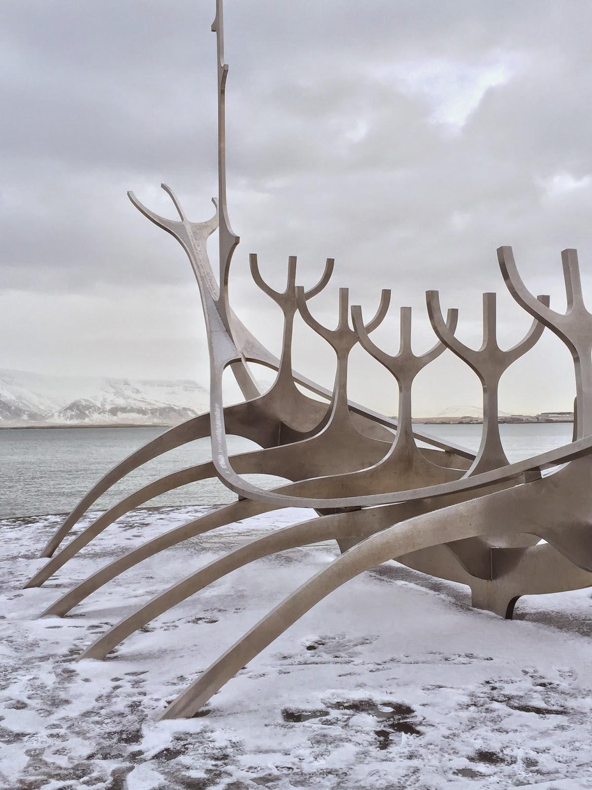 Solfar, Viking boat sculpture, Reykjavik