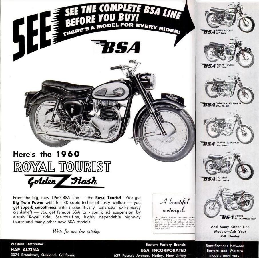vintage motorcycle advertising