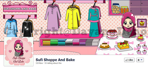 Tempahan : FB Timeline Cover & Profile Picture *Sufi Shoppe And Bake