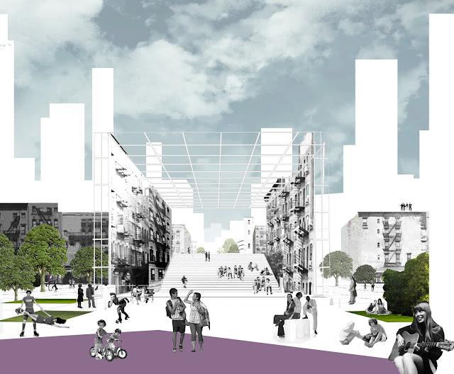 Khaled elashry manhattan promenades mit usa for Space definition in architecture