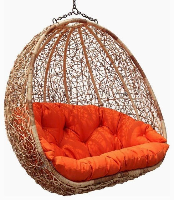 Dacon Design/blog /Estella Dual Sitting Outdoor Wicker Swing Chair