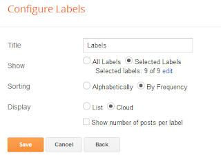 customize labels cloud