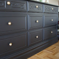 Drab to Fab: A Dresser Makeover