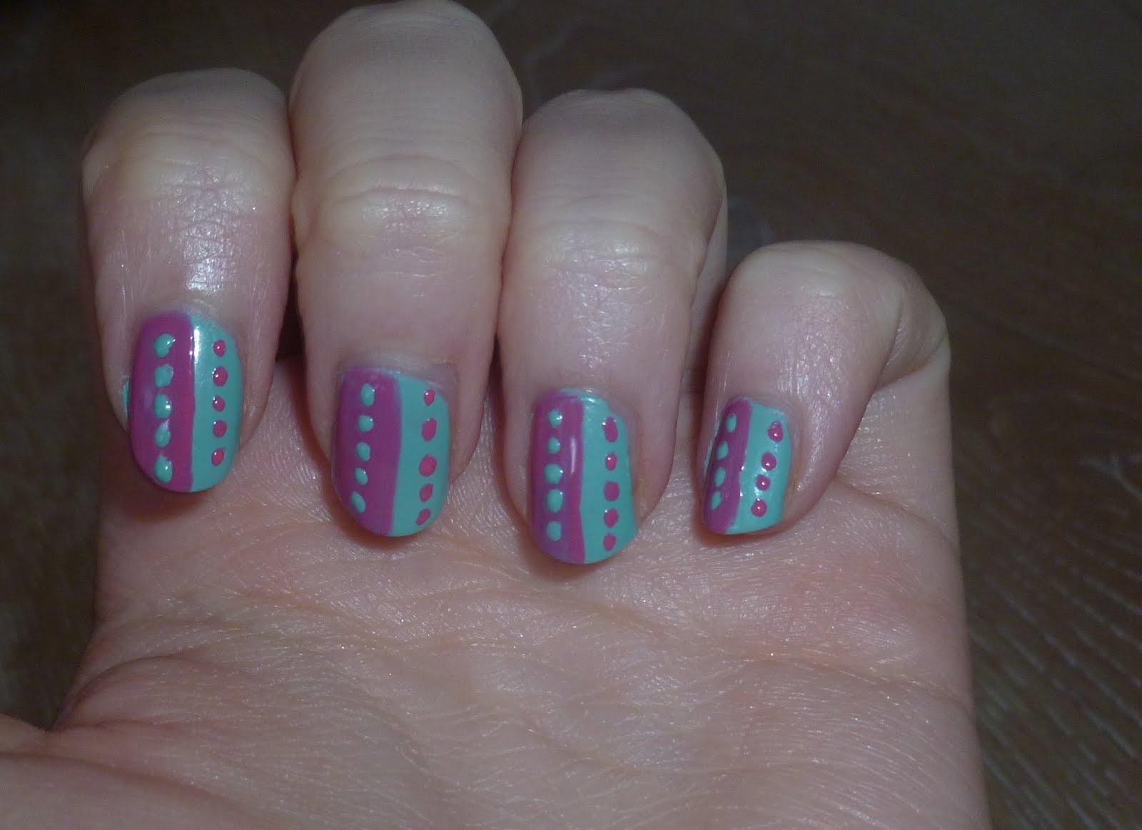 Spotty & Stripey Nails