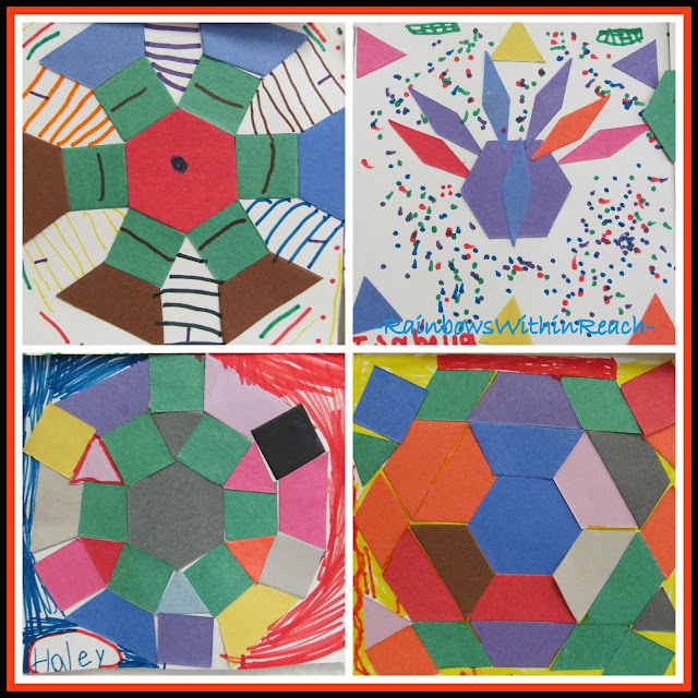 "Quilted Kindergarten Creations in response to Debbie Clement's picture book ""You're Wonderful"""