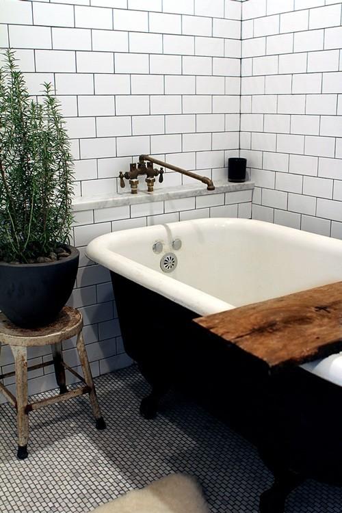 Prairie perch amped up subway tiles - Design sponge bathrooms ...