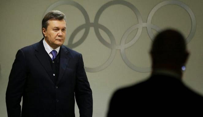 Mantan Presiden Ukraina Masuk Daftar Buron