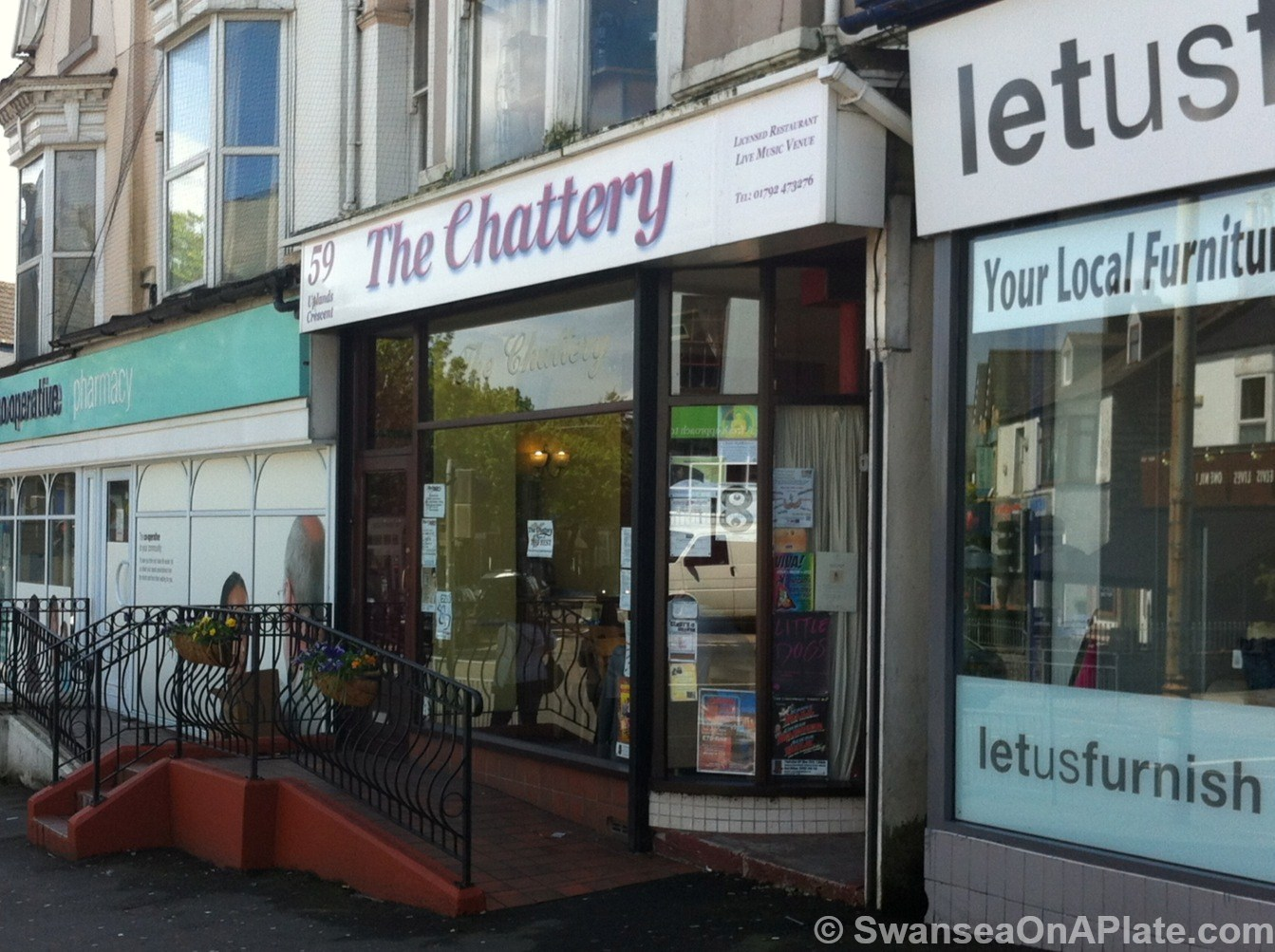 It sits quietly in Uplands Crescent  within thirty seconds walk to trendy  new places such as Noah s Yard and The Gower Kitchen. Taste Swansea   Delicious Food and Drink Magazine for Swansea