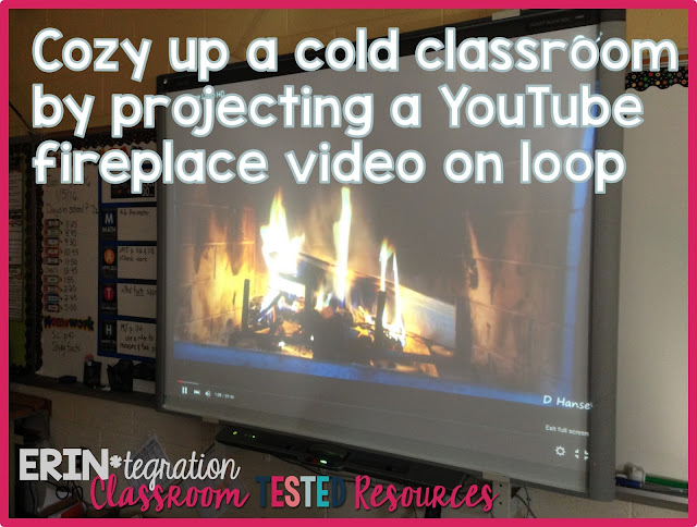 Snow Day Classroom Hacks - Quick and easy ways to infuse your classroom with fun & keep students focused on those chilly winter days that should have been a snow day!
