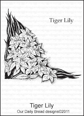 Our Daily Bread designs Tiger Lily Set