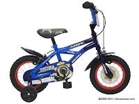 Sepeda Anak Wimcycle Arrow (Police) MY2011 12 Inci
