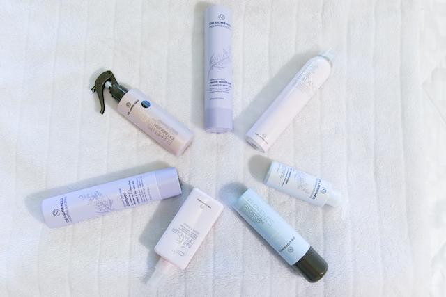 De Lorenzo; vegan hair care products. No animal testing.