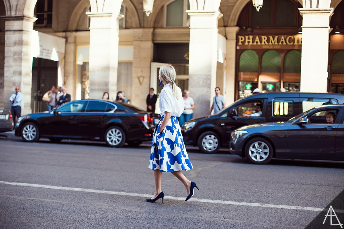 Paris Fashion Week SS15 Street Style Vivienne Westwood Alina Gelzina photo by Ylenia Cuellar