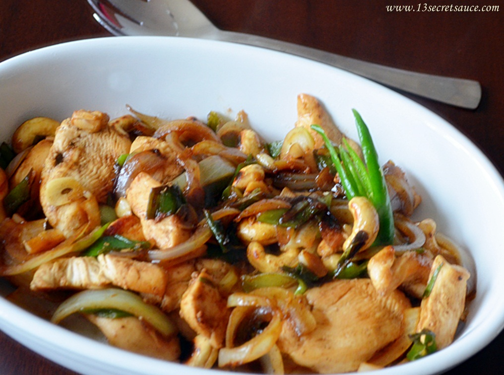 13 Secret Sauce: Stir-Fry Chicken With Cashew Nuts