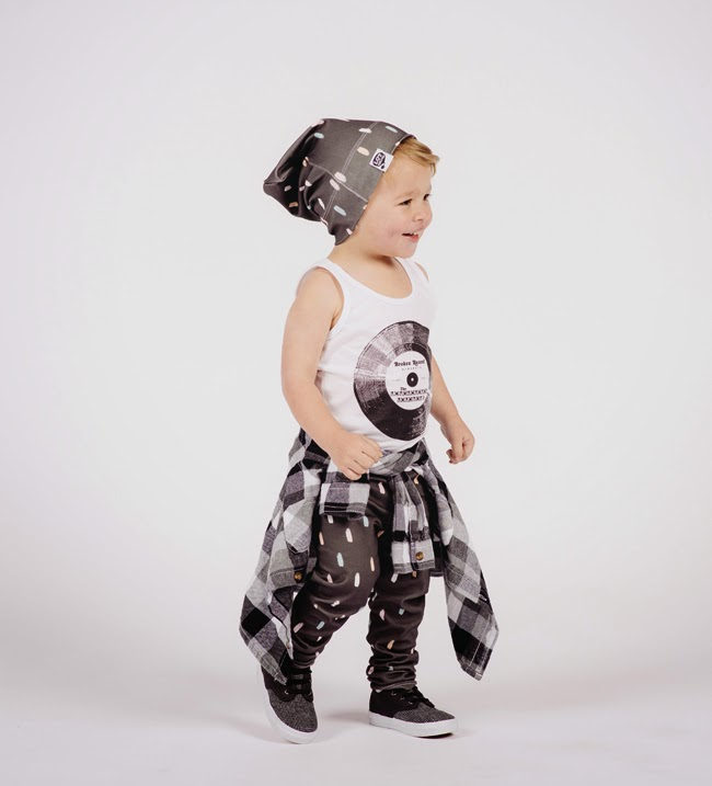 LOT801 SS15 kidswear collection - monochrome toddler style