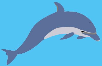 Dolphins Cartoon Wallpaper