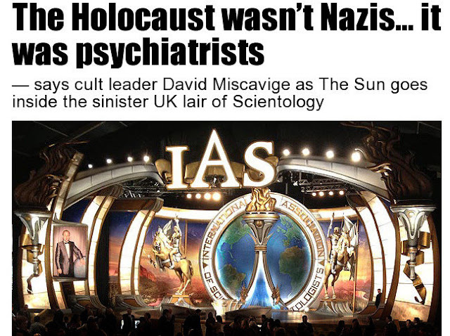 The Holocaust wasn't Nazis... it was psychiatrists — says cult leader David Miscavige. the Sun goes inside the sinister UK lair of Scientology