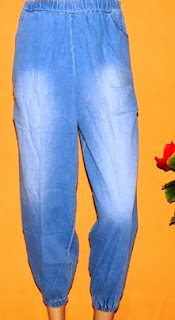 Grosir celana jeans kulot legging CKJ203