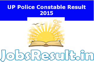 UP Police Constable Result 2015