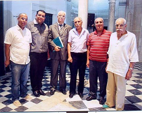 صورة تذكارية بالمعهد الرشيدي