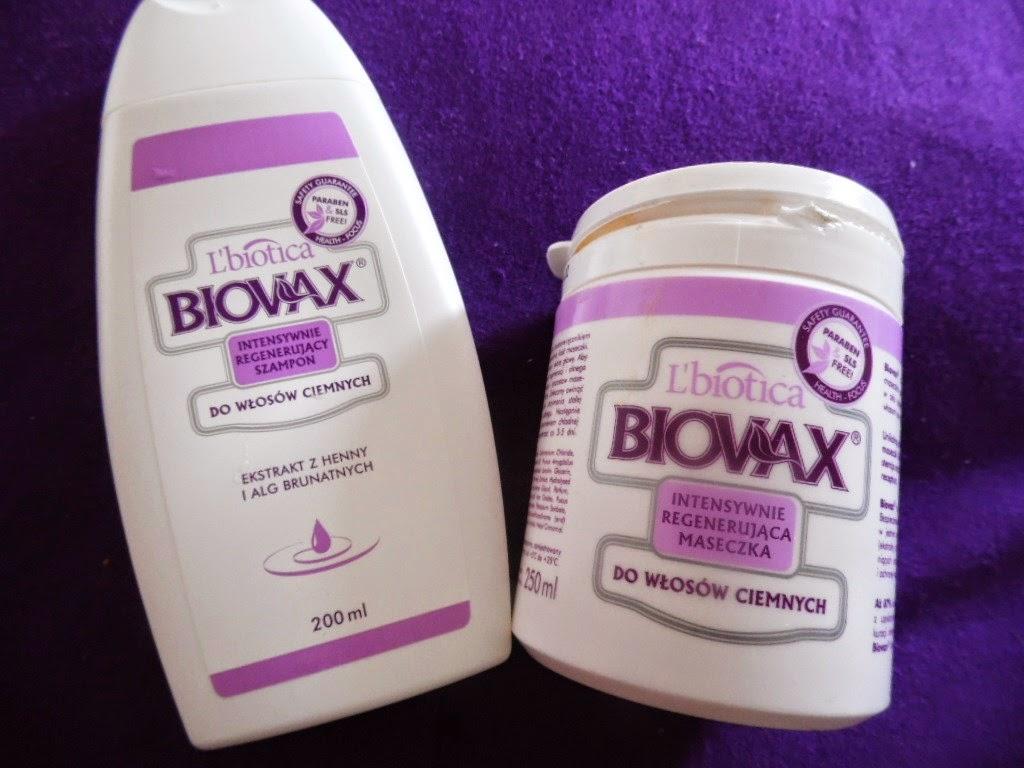 Podwójna recenzja | Biowax szampon i maseczka, Intensywna regeneracja do włosów ciemnych.