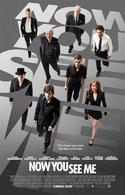 Now You See Me - One Sheet   A Constantly Racing Mind