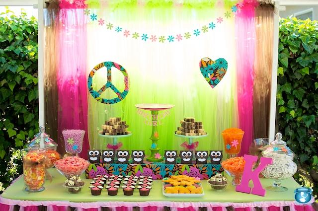 hacer fiesta hippie