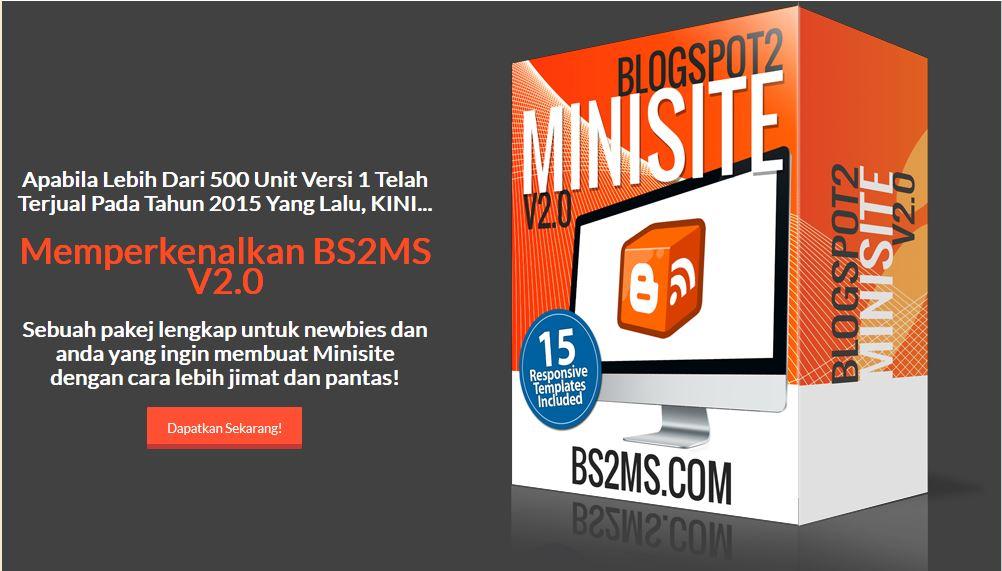 Setup Minisite Blogspot