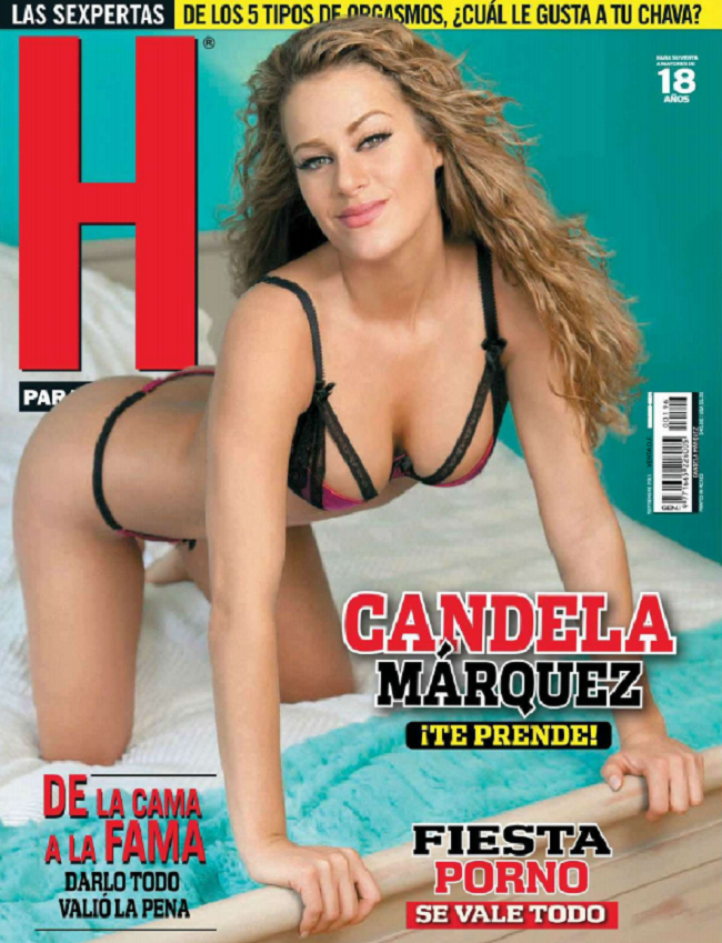 Revista H para Hombres México Septiembre 2015 - Candela Marquez Te ...