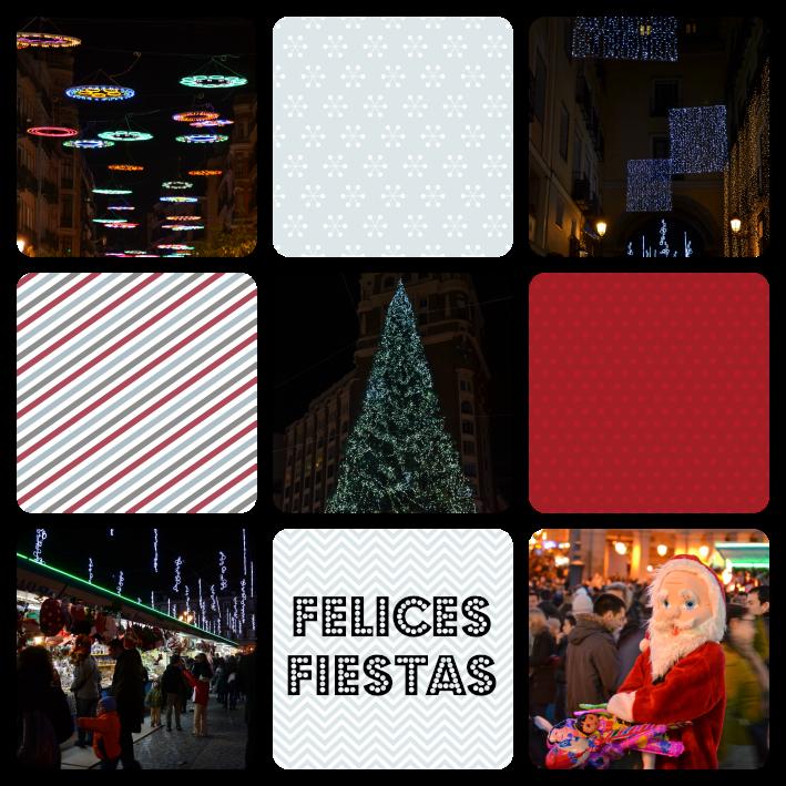 Collage de Navidad en Madrid