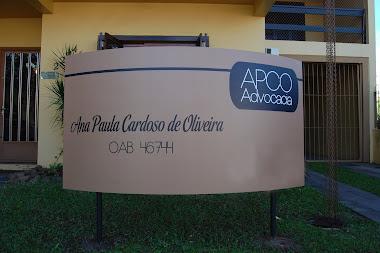 PLACAS DE PATRIMÔNIO FACHADA COMERCIAS EM ACM ADESIVADA APCO ADIVOCACIA CARAGUATATUBA-SP