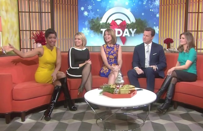 Dylan Dreyer In Tights And Heels | apexwallpapers.com