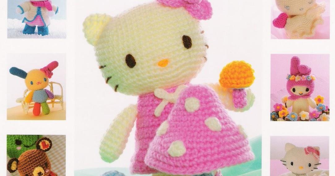 Patrones Amigurumi Gratis: Revista Hello Kitty Amigurumi