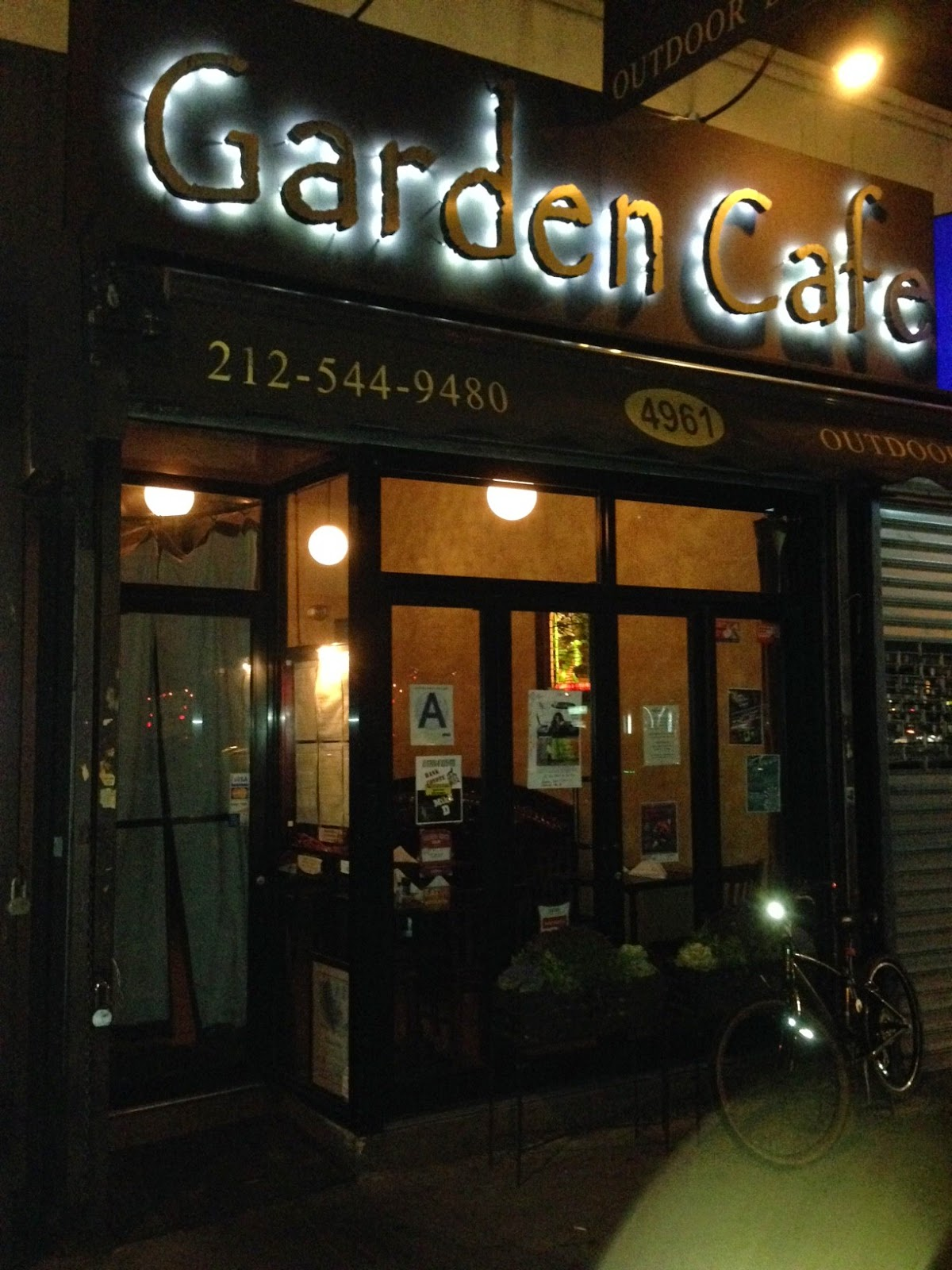 Sofrito In My Soul: The Garden Café: A great place to eat, drink and ...