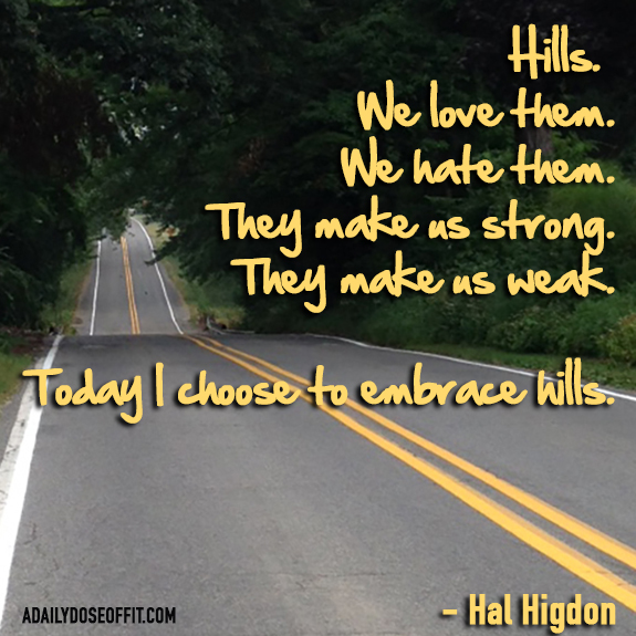 Hal Higdon, running quote, inspiration, fitness, half marathon, run chat