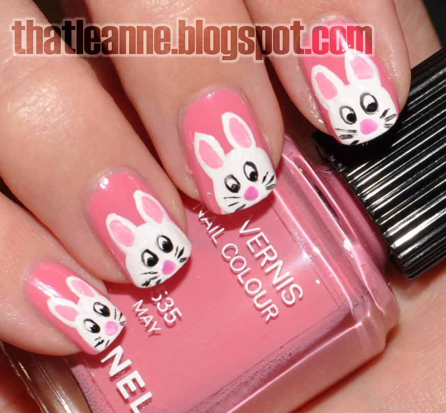 Thatleanne easter bunny nail art 2012 i really like this colour so glad i got it i really like june too but i dont know if i would wear an orange as much prinsesfo Image collections