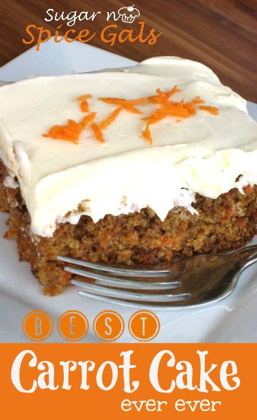 Carrot Cake With Nutmeg