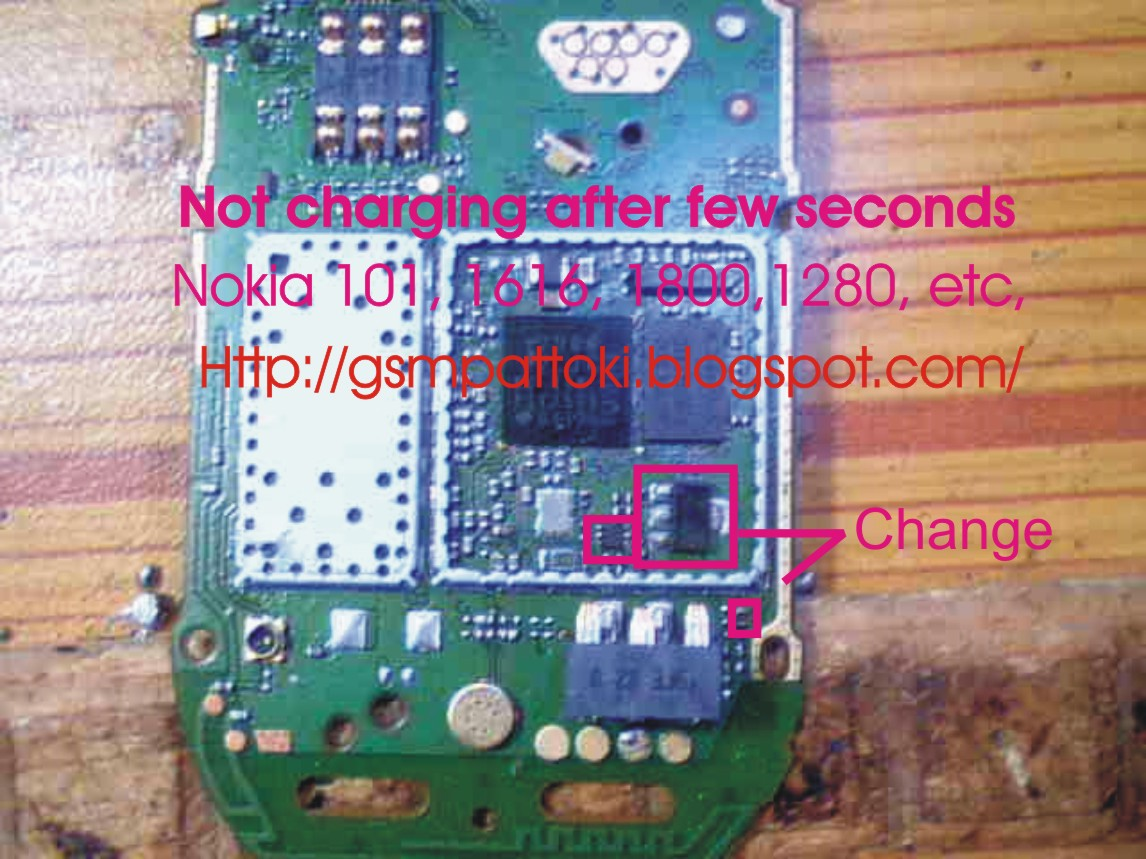 Nokia 1280 Not Charging Solution