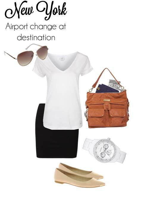 What to wear on a long-haul flight - Amy MacLeod - Five Kinds of Happy