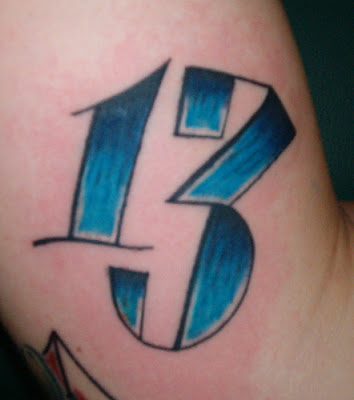 lucky 13 tattoo