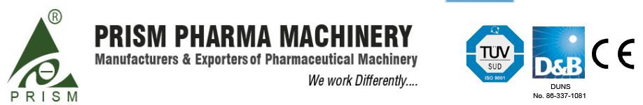 Prism Pharma Machinery : Roll Compactor