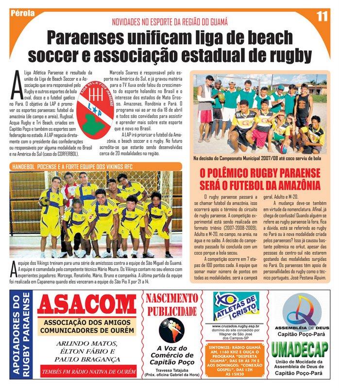 Futebol brasileiro (BFL, Brazilian Football League)