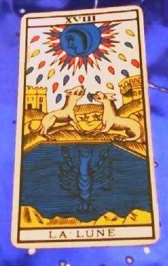 La Luna- Tarot de Marsella