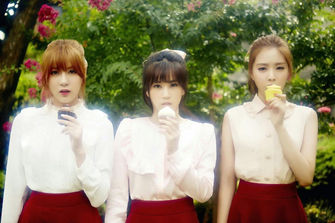 Hayoung Chorong Naeun PINK LUV concept